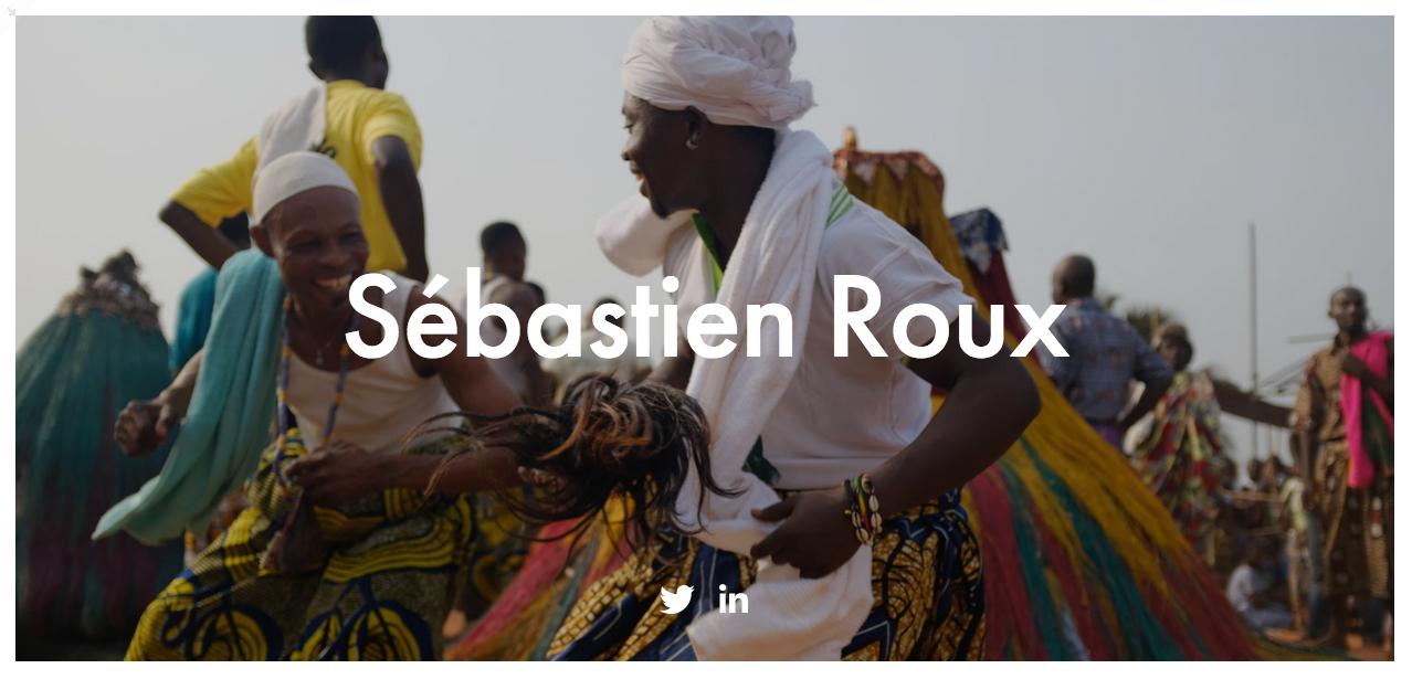 Sébastien Roux - Récits de voyage