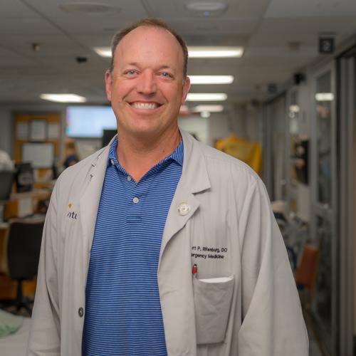 Robert Rifenburg, DO, FACEP, RDMS - Associate Director