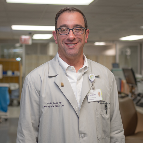 David Bordo, MD, FACEP - Chief Medical Officer, Resurrection Medical CenterResidency: Resurrection EMMedical School: Chicago Medical SchoolUndergraduate: Brandeis UniversityHometown: Los Angeles, CAHobbies: hockey, runningYears at Res: 17