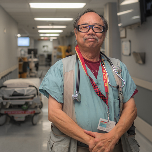 Shu Chan, MD, FACEP - Director of ResearchResidency: Good Samaritan Hospital, Portland OR (General Surgery)Medical School: Northwestern UniversityUndergraduate: University of ChicagoHometown: Chicago, ILHobbies: guitar, mandolin, cooking, tai chiYears at Res: 38
