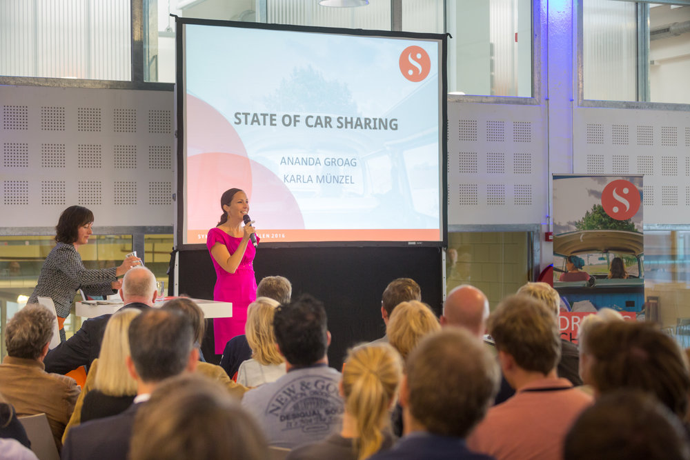 Driving Change car sharing conference   The Hague 2016