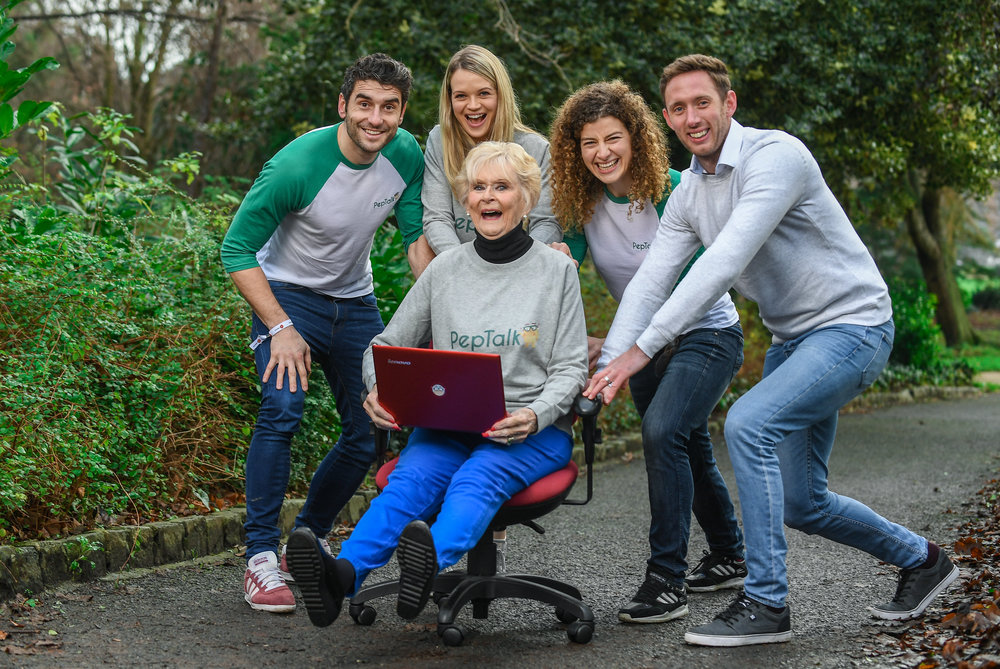 FROM R-L Dream Team members Bernard Brogan, Ailís McSweeney, Rosemary Smith, Jenny Murphy and Michael Fennelly.jpg