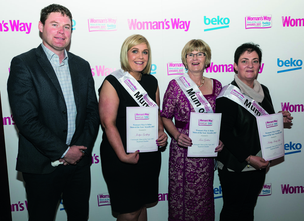 Shane pictured with Joelyn Godfrey, Terri Golden and Kathy Harty Leo