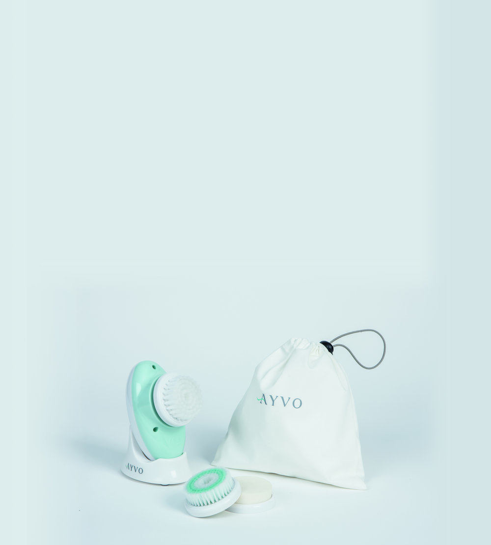 Ayvo: Rejuvenating Electronic Facial Cleansing Brush from JML