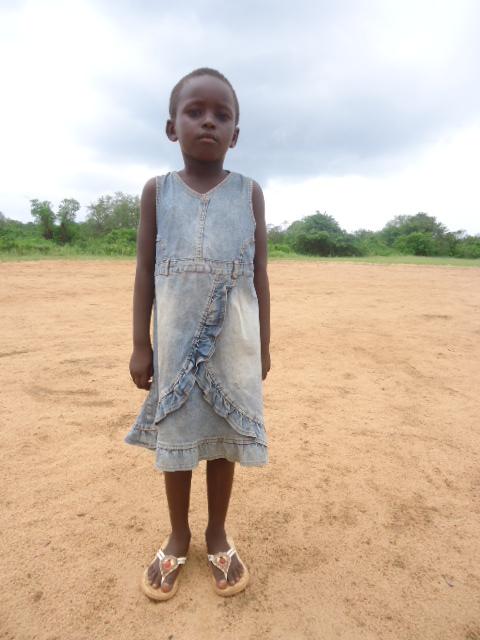 Prisela Muli, Ann's sponsor child in Kenya