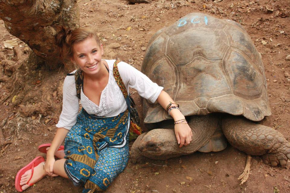 Aoibheann has traveled to many unique and exotic locations, including Zanzibar