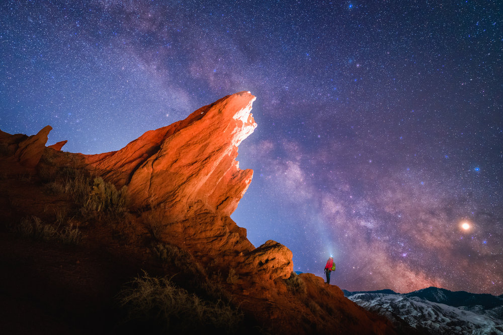 Photographer Albert Dros captured this incredible image of the Milky Way using Sony's 24mm F1.4 GM lens