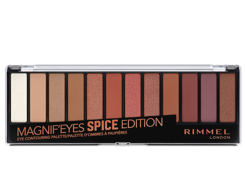 Magnif'eyes Eyeshadow Palette - Spice Edition from Rimmel London