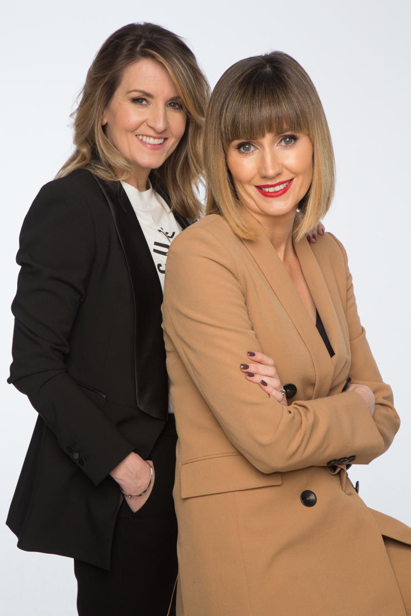 Charlotte Bradshaw and Leslie Healy of Salonetwork
