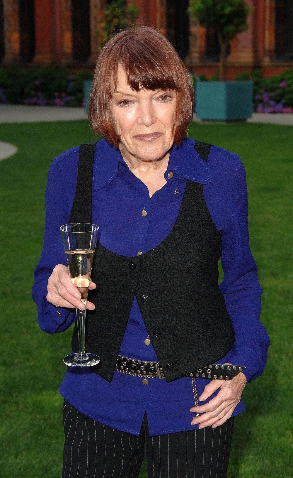Designer Mary Quant
