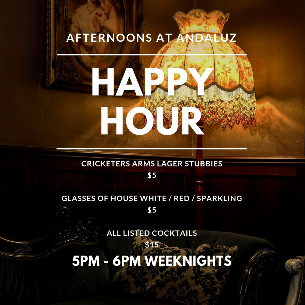Weekday Happy Hour