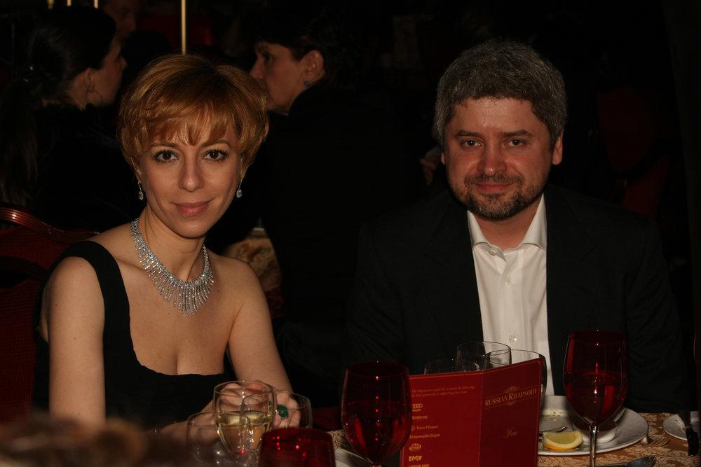 Marianna Maximovskaya REN TV and Albert Popkov Odnoklassniki.ru_photo by Irina Kalashnikova.jpg