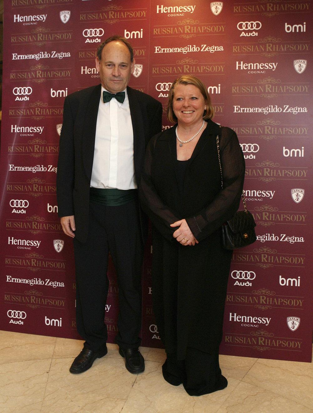 Antony Branton, British Ambassador to Russia with his wife Sue.jpg