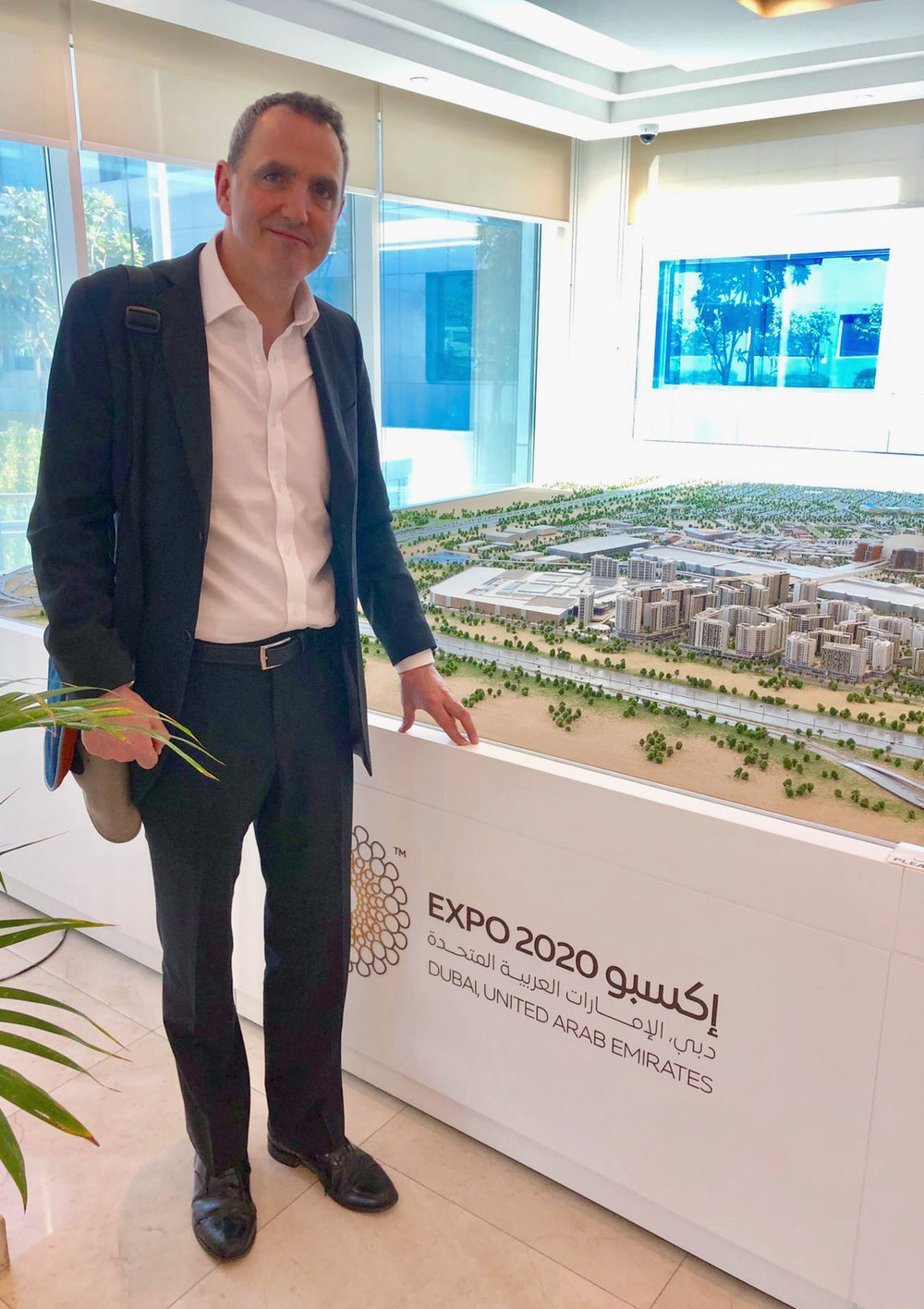 Exciting work ahead - – and we are looking forward to watching Expo 2020 rise from the desert sands over the next 18 months.