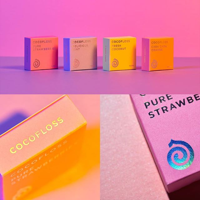 What a wonderful collection of packagings designed by @anagramastudio for @getcocofloss a Californian company creating dental floss. A creative, colorful and funny way to showcase a product that is often trivialized. - - - #branding #brandinspiration #logo #typography #graphicdesign #inspiration #design #creative #logo #logodesign #type #brandidentity #logotype #studio #contemporary #letmebrand #onlylyon #brands #art #creativity #identity #logodesign #branding101 #digital