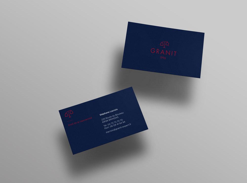 Granit expert business cards designed by Let me brand.jpg
