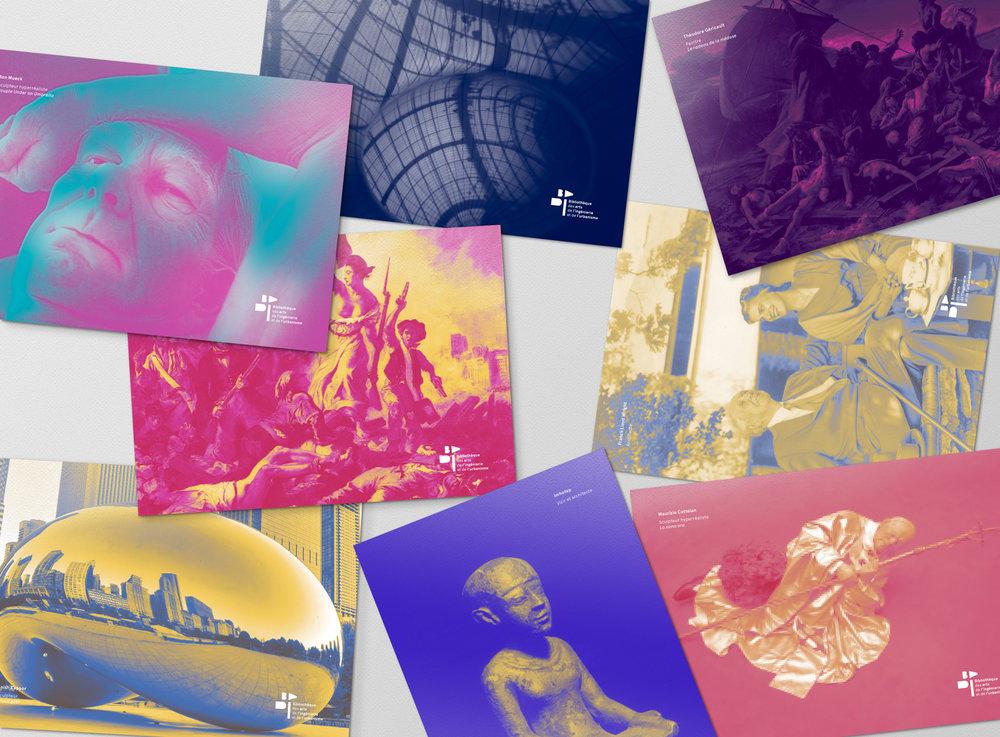 BAIU postal cards designed by Let me brand.jpg