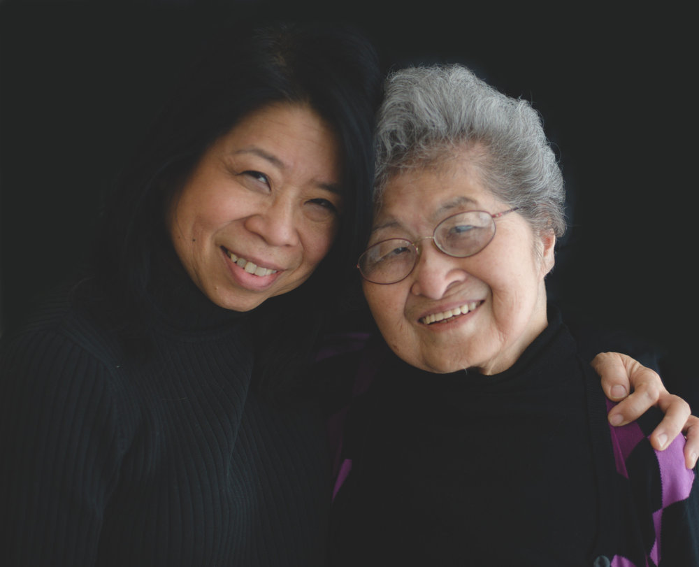 "Elaine and her 91-year-old mother, Fumiko, are close. Elaine says when Fumiko and her parents and siblings were taken from their California home, they first lived in horse stalls at a racetrack. ""And then they were put on trains when the camps were ready. They were put in trains and the shades were drawn so they didn't know where they were going."" Elaine still wonders what they thought as they rode that train for four days."