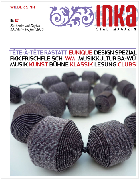 INKA Magazine, Mai 2010