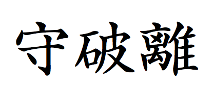 Fig 2. Japanese concept of Shu-Ha-Ri