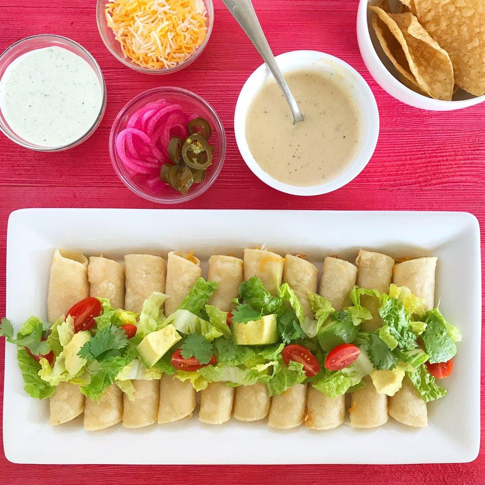 Authentic Chicken Tinga Tacos