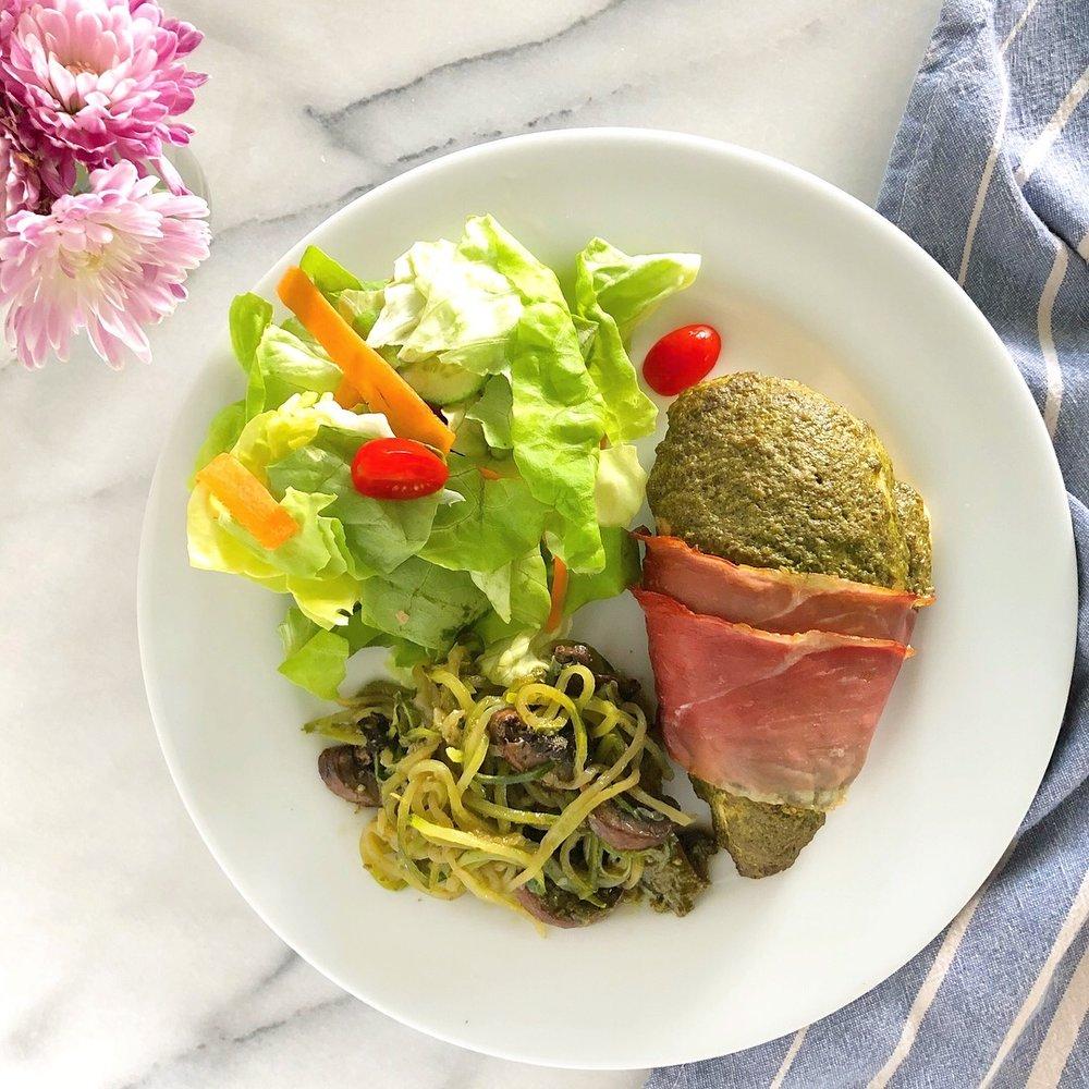 Pesto-Prosciutto Chicken