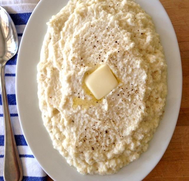 Pureed Cheesy Cauliflower