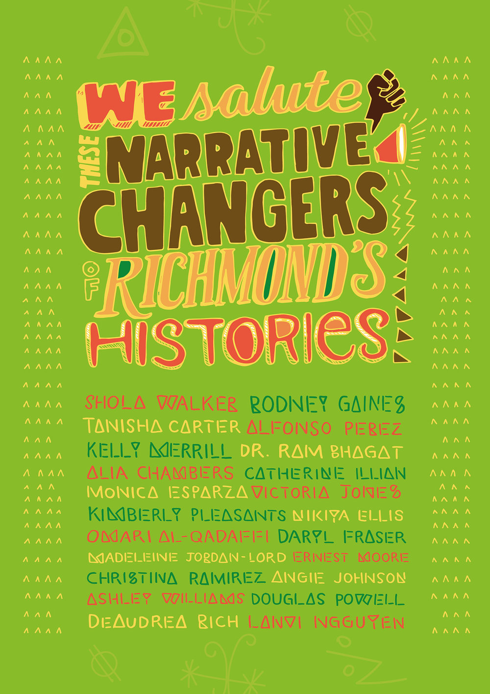 We also recognize the important work that all the first-year NCC applicants are making as Richmond's Narrative Changers!