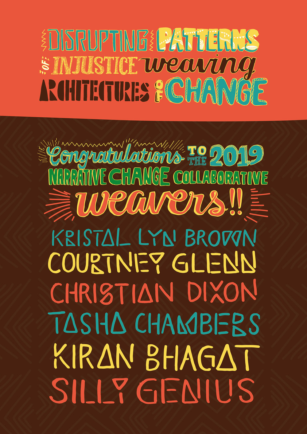 We are honored to have The Weavers form the first cohort of the Narrative Change Collaborative (NCC).