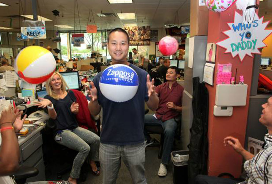 Zappos CEO Tony Hsieh: practice what you preach