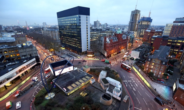 'Silicon Roundabout', also known as London's Tech City - a genuine FinTech hub