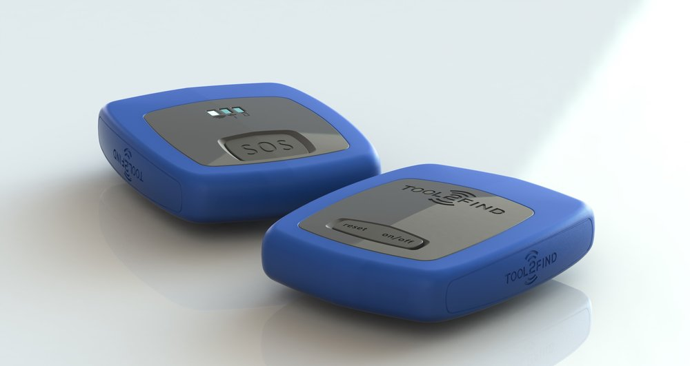 Working prototypes of Tool2Find, the company's new product