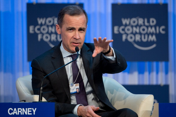 Mark J. Carney, Governor of the Bank of England, in Davos
