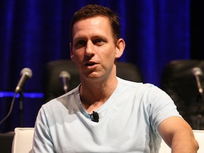Peter Thiel, Facebook investor
