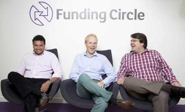 Funding Circle founders, Samir Desi on the left