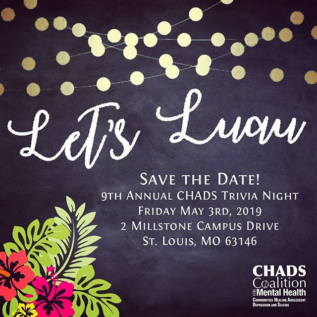 Tickets will be available soon for this year's trivia night! Thanks everyone who gave ideas and votes for this year's theme 🌸🍍🏝 #mentalhealth #trivianight #luau #stl