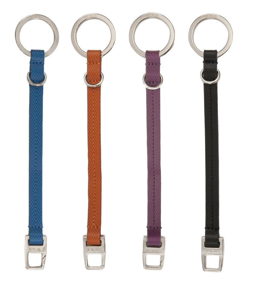14763_French_Blue_Orange_Purple_Black_Prism_Leather_Lanyard_Key_Fob_Group.jpg