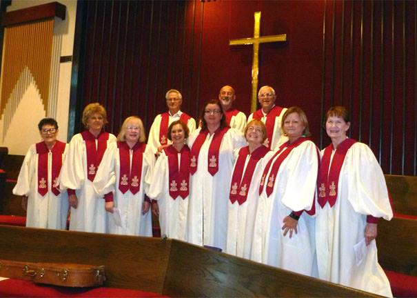We worship God - Join the choir.  Become a liturgist.  Lift up your prayers and praises to God.