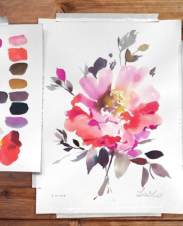 E V E N T. P O S T P O N E D | join us for our watercolor workshop this Thursday 7-8:30pm hosted by the talented @pinkandsalt. Create a floral or landscape watercolor for you to take home. Purchase tickets in bio.