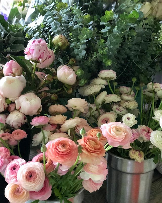 These lovelies for today's wedding @turningstonefarm in Greensboro, VT. It's a special one, because my (Lauryn) little sister is getting married and I get to treat her to only the best #moretocome