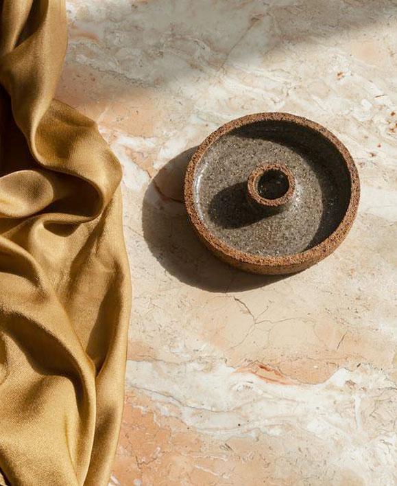 Commons Stillness Incense Cone Holder, $50