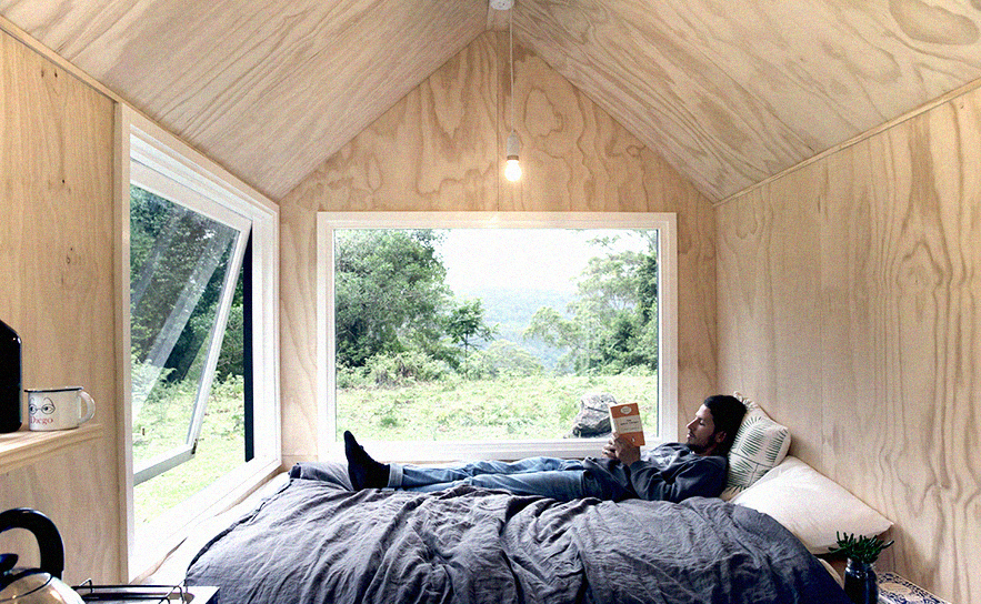 Unyoked's  Miguel  tiny house in the Southern Highlands of New South Wales.