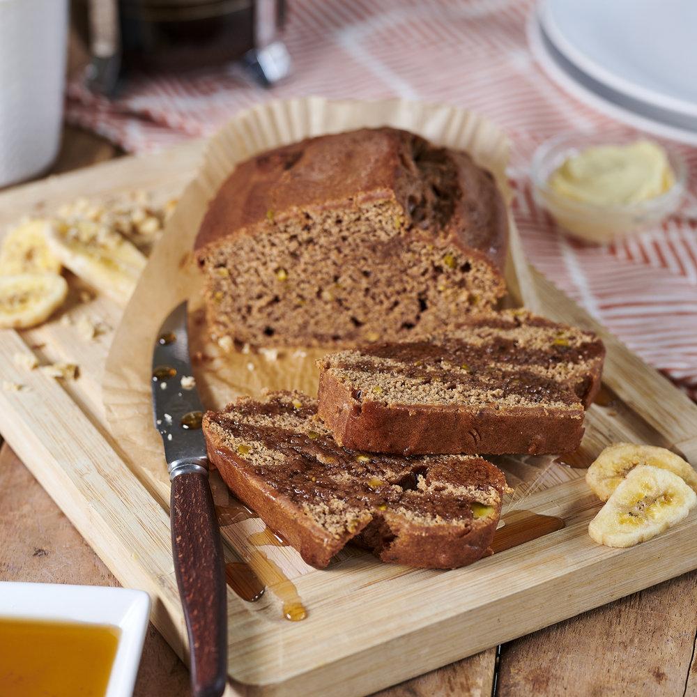 Vegan Banana cake - Easy vegan dessert - Ready meal