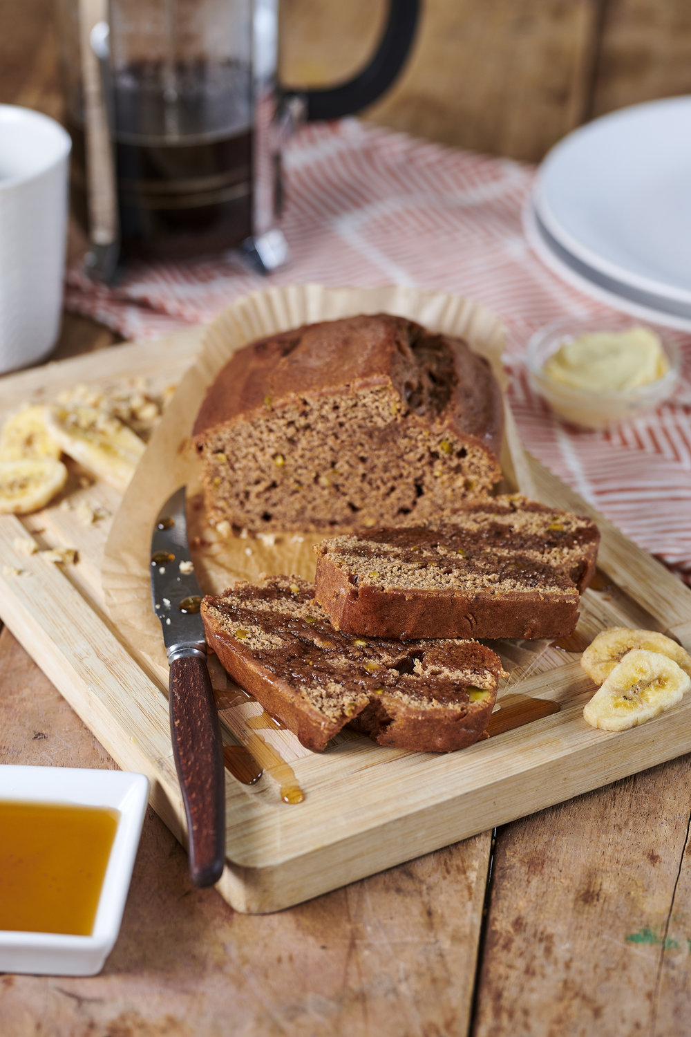 The Brook Vegan Banana Loaf