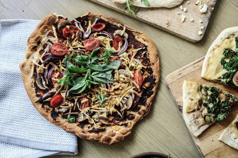 classic vegan pizza