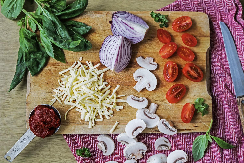 vegan pizza ingredients