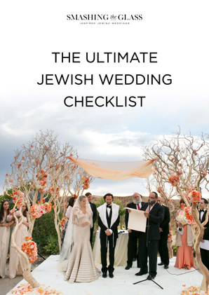 Ultimate Jewish Wedding Checklist