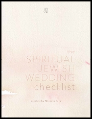 Spiritual Jewish Wedding Checklist