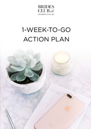 One Week to Go Action Plan