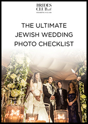 The Ultimate Jewish Wedding Photo Checklist